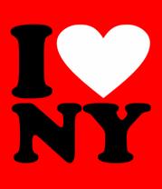 Бейсболка I love NY