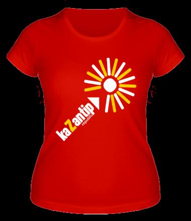 Женская футболка  KaZantip