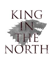 Женская майка борцовка King in the North