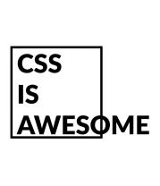Детская футболка  CSS - это круто