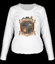 Женская футболка с длинным рукавом A Runner's Code