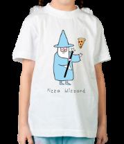 Детская футболка  Заклинатель пиццы