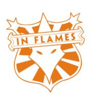 Трусы мужские боксеры In Flames