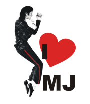 Детская футболка  I Love Michael Jackson