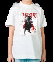 Детская футболка  Thor In Grunge