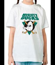 Детская футболка  Anaheim Mighty Ducks