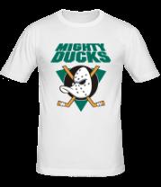 Мужская футболка  Anaheim Mighty Ducks
