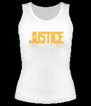Женская майка борцовка Justice League