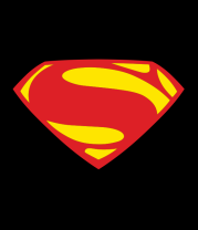 Женская майка борцовка Superman new logo