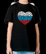Детская футболка  Сердце России