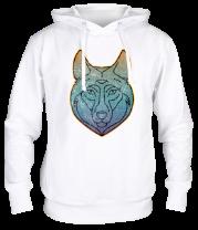 Толстовка Винтажный зимний волк