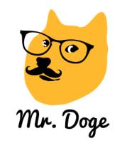 Толстовка без капюшона Mr. Doge