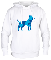 Толстовка Абстрактная собака