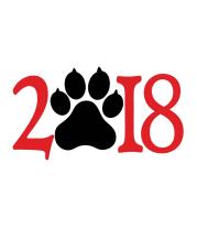 Детская футболка  Новый год 2018