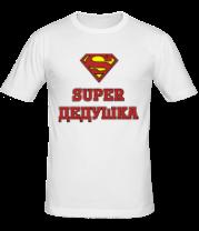 Мужская футболка  Супер дедушка