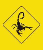Детская футболка  Знак скорпион