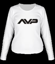 Женская футболка с длинным рукавом Alien vs  Predator