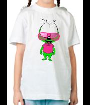 Детская футболка  Кислотный вжик