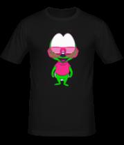 Мужская футболка  Кислотный вжик