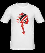 Мужская футболка  Индеец