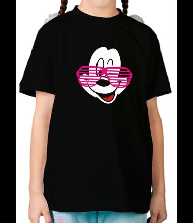 Детская футболка  Микки Маус в очках