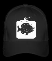 Бейсболка Рыбак и большая рыба