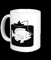 Кружка Рыбак и большая рыба