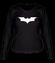 Женская футболка с длинным рукавом Batman