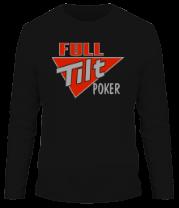 Мужская футболка с длинным рукавом Full Tilt Poker