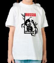 Детская футболка  Power life