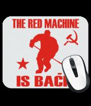 Коврик для мыши Красная машина вернулась!