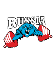 Женская футболка  Russia PR