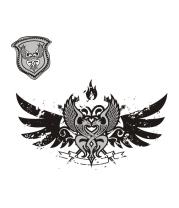 Толстовка без капюшона Кельтский орнамент