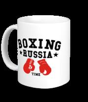 Кружка Boxing Russia