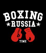 Мужская футболка с длинным рукавом Boxing Russia
