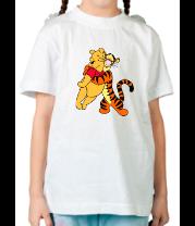 Детская футболка  Винни Пух и Тигра