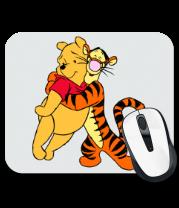 Коврик для мыши Винни Пух и Тигра