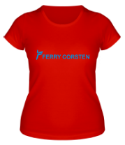 Женская футболка  Ferry Corsten