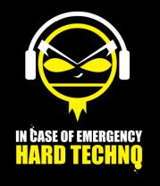 Женская майка борцовка Hard techno