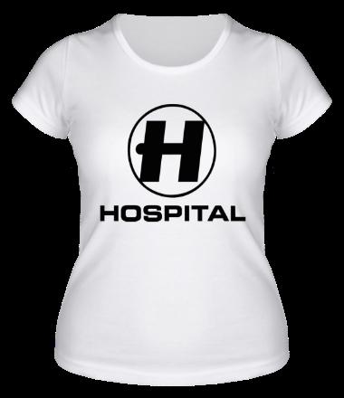 Женская футболка  Hospital