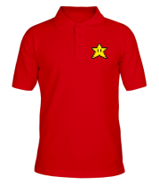 Футболка поло мужская Звезда