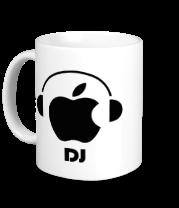 Кружка Apple DJ