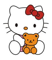 Кружка Китти и Тедди