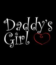 Женская майка борцовка Daddy's Girl