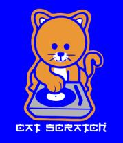 Детская футболка  Cat scratch