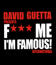 Женская футболка  David Guetta Fuck me I'm Famous