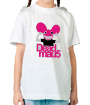 Детская футболка  DeadMau5