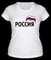 Женская футболка  Россия