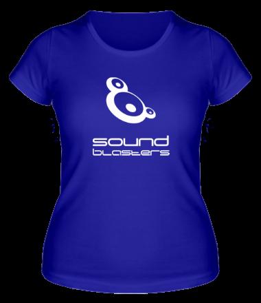 Женская футболка  Sound Blasters