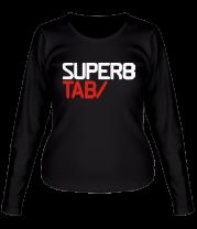 Женская футболка с длинным рукавом Super tab